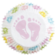 Wilton Baking Cases: Baby Feet (pack of 75)
